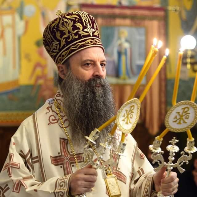 patrijarh srpski porfirije